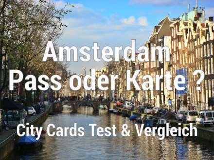 Amsterdam Pass Test & Vergleich