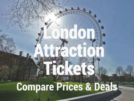 London Attraction Ticket Prices