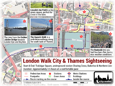 London Walking Tour Maps Free Self Guided Walks