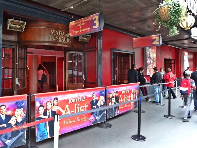 Madame Tussauds London Building