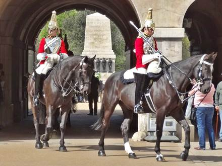 Guard Change at Horse Guards Parade