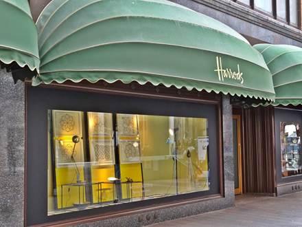 Harrods Schaufenster