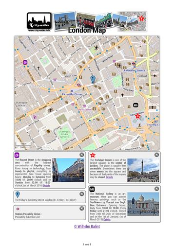 london map printable
