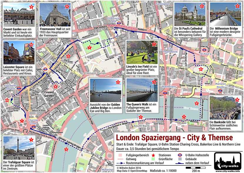 London Spaziergang City & Themse PDF