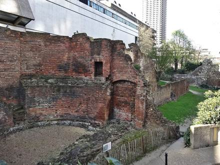 London Wall Remains