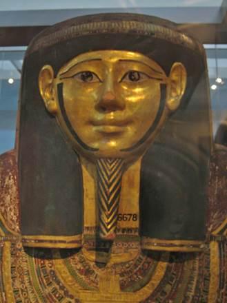 Sarg von ägyptischem Priester Hornedjitef