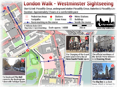 Westminster Sightseeing Walk