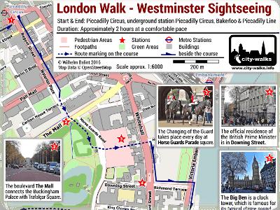 Westminster Sightseeing Walk