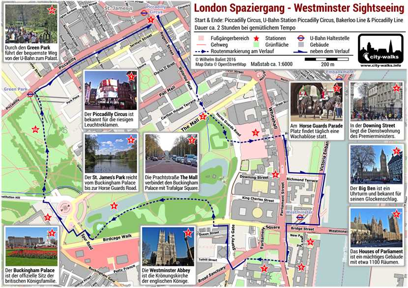 London Karte Sehenswürdigkeiten.Westminster Sightseeing London Spaziergang Pdf Plan