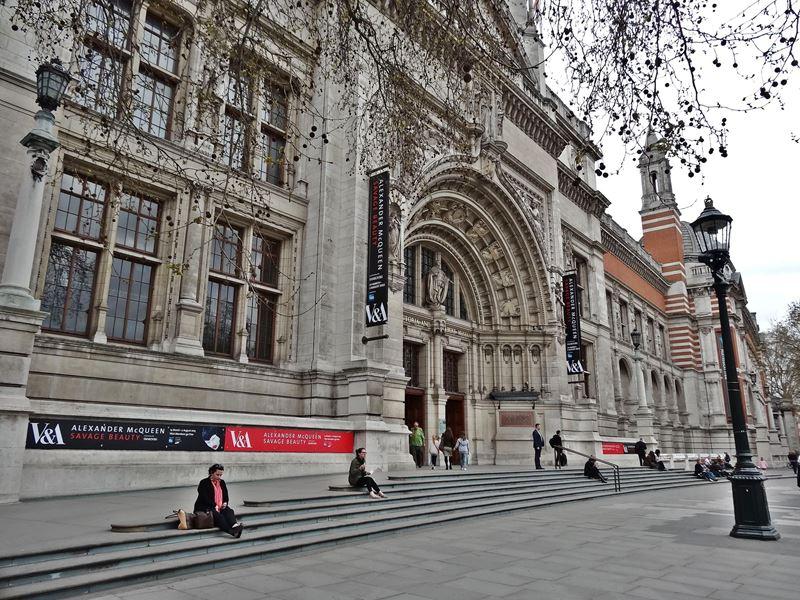 Victoria And Albert Museum Gratis Kunst In London