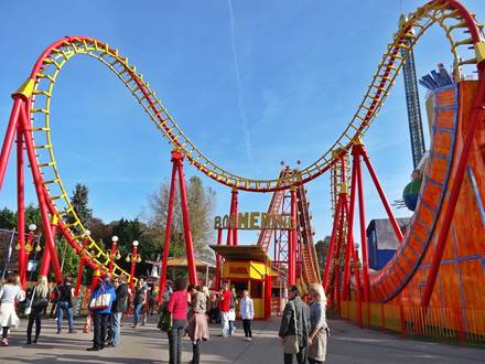 Boomerang Roller Coaster Prater