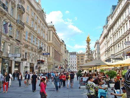 Graben Vienna Shopping Street