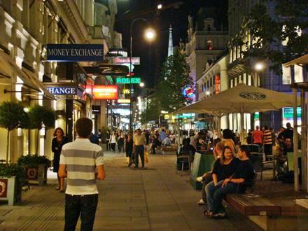 Kärntner Strasse Vienna Evenings