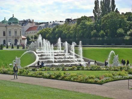 Kaskadenbrunnen im Schlossgarten