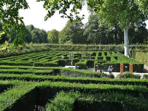 Labyrinth im Irrgarten Bereich
