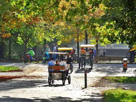 Rickshaw Hauptallee