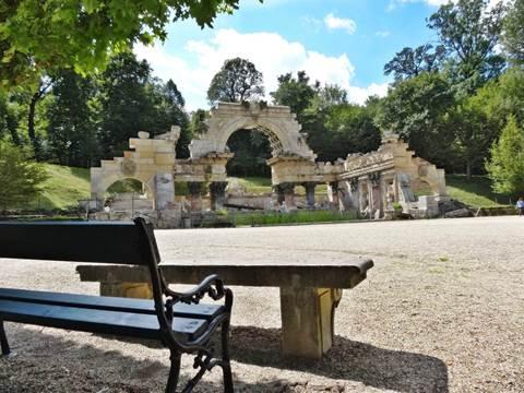 Römische Ruine Schönbrunn