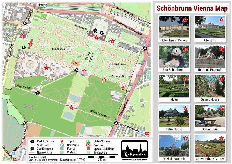 Schönbrunn Map - PDF