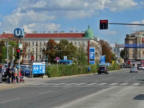 Parkplatz Schönbrunner Schloßstraße