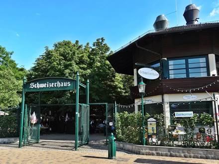 Eingang zum Schweizerhaus