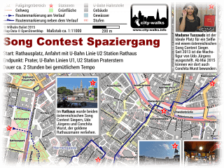 Song Contest Spaziergang Bild