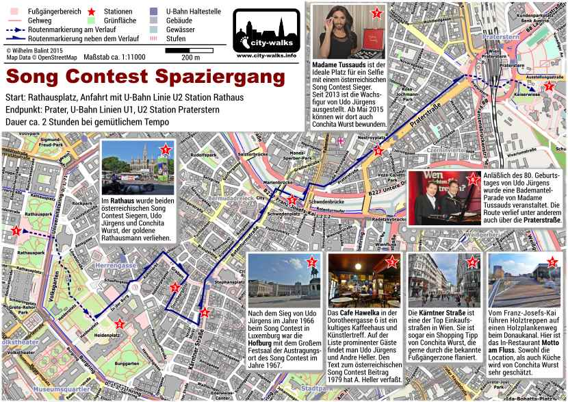 Song Contest Spaziergang