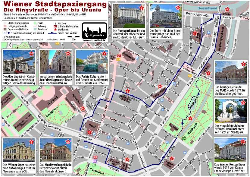 Stadtspaziergang Ringstraße