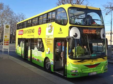 Vienna Sightseeing Tours Hop-on Hop-off Bus