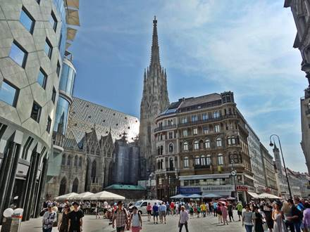 View Graben Stephansdom