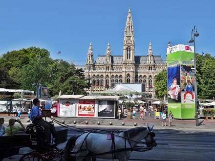 Viennese Rathausplatz